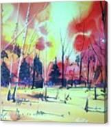 Watercolor4632 Canvas Print