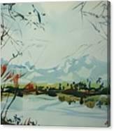 Watercolor5498 Canvas Print