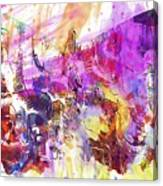 Watercolour Watercolor Paint Ink  Canvas Print
