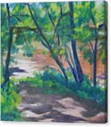 Watercress Beach On The Current River   Canvas Print