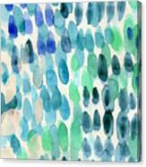 Waterfall 2- Abstract Art By Linda Woods Canvas Print