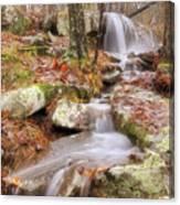 Waterfall Atop Petit Jean Mountain - Arkansas - Nature Canvas Print