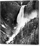 Waterfall, C1900 Canvas Print