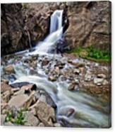 Boulder Falls Canvas Print