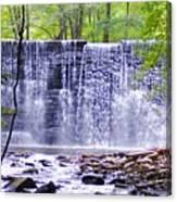 Waterfall In Gladwyne Canvas Print