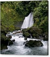 Waterfall In La Fortuna Canvas Print