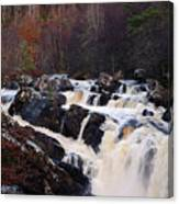 Waterfall In Scotland Canvas Print