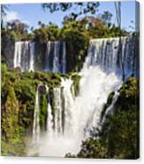 Waterfall In The Jungle Canvas Print