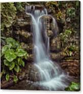 Waterfall In The Opryland Hotel Canvas Print