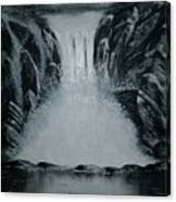 Waterfall Of Life Canvas Print