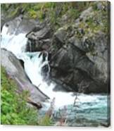 Waterfall Of Paradise Canvas Print