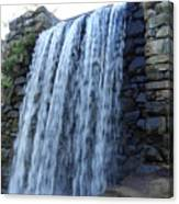 Waterfall Of The Grist Mill Canvas Print
