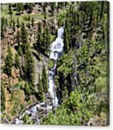 Waterfall On Lava Creek 2 Canvas Print