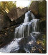 Maine Waterfall Canvas Print
