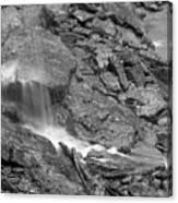 Waterfall Stream Canvas Print
