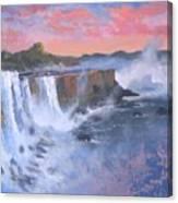 Waterfall Study Canvas Print