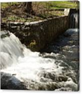 Waterfall Times Two Canvas Print