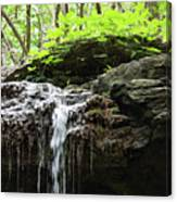 Waterfall Topper Canvas Print