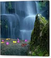 Waterfall02 Canvas Print
