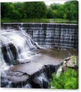 Waterfalls Cornell University Ithaca New York 05 Canvas Print