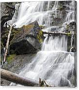Waterfalls Of Lost Creek Canvas Print