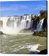 Waterfalls Wall Canvas Print