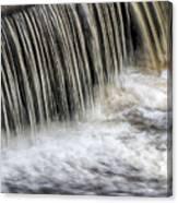 Waterflow Waterfall On A Small Creek Canvas Print