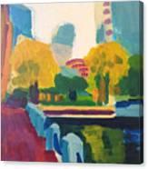 Waterfront Park, Boston Canvas Print