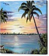 Waterfront Property Canvas Print