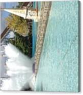 Waterfun  Canvas Print