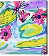 Waterlilies Canvas Print