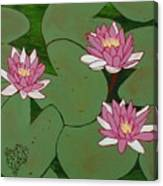 Waterlillies Canvas Print