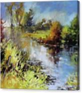 Waterline Canvas Print