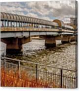 Waterloo Iowa Bridge Canvas Print