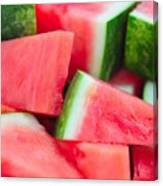 Watermelon 6673 Canvas Print