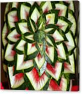 Watermelon Art Canvas Print