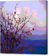 Watermelon Sky Canvas Print