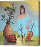 Watermusic Canvas Print