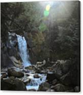 Waters Falling Canvas Print