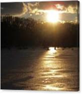 Watershed Sunset Canvas Print