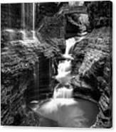 Watkins Glen Rainbow Falls #2 Canvas Print