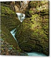 Watkins Glen Waterfall Canvas Print