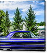 Watson - 1965 Cadillac Sedan Deville Canvas Print