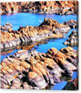 Watson Lake At Prescott Az Canvas Print