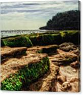 Watu Leter Beach Canvas Print