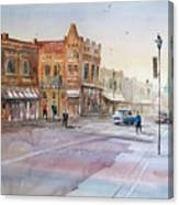 Waupaca - Main Street Canvas Print