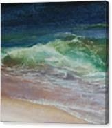 Wauwinet Wave IIi Canvas Print