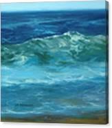 Wave Action Detail Canvas Print