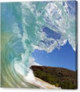 Wave Breaking Canvas Print