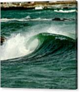 Wave Curl Canvas Print